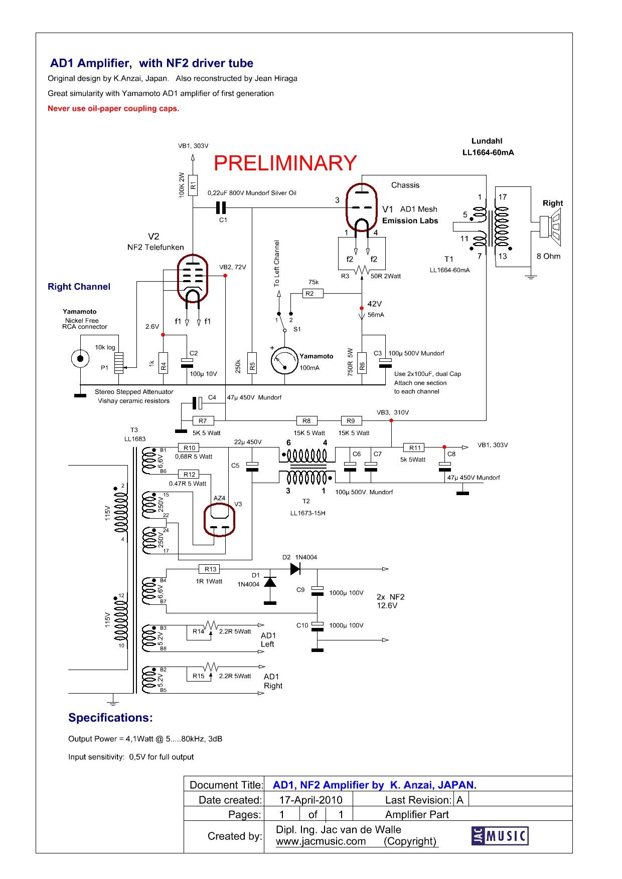 Tube Amplifier Kits