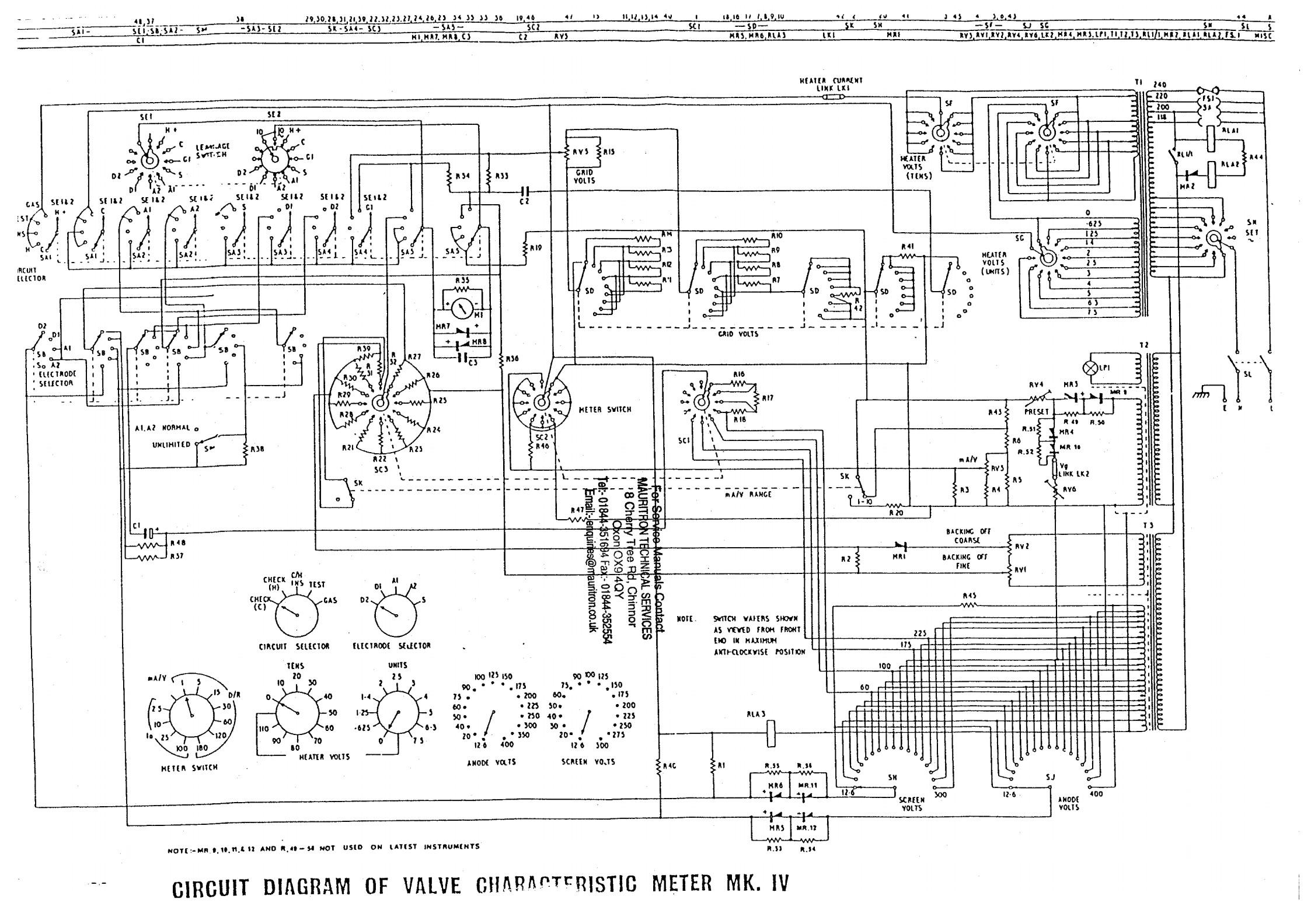 Avo 8 Circuit Diagram - Wiring Liry Diagram Experts