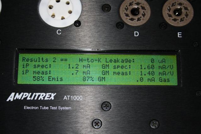 ECC83, 12AX7 how to test them