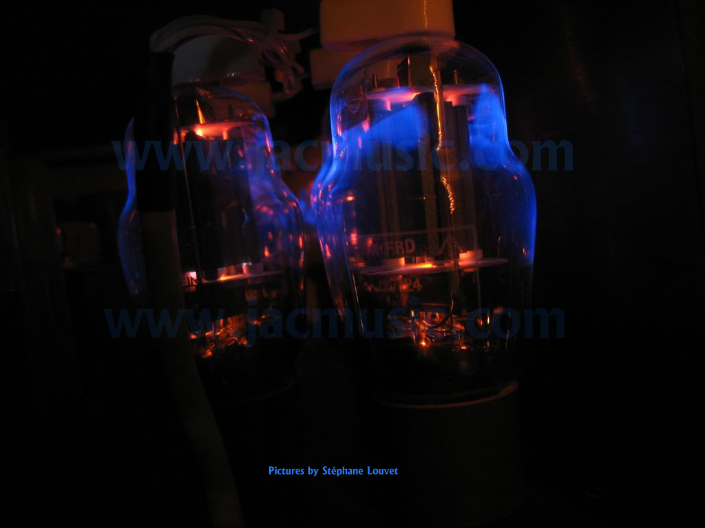 Blue Glow in Electron tubes