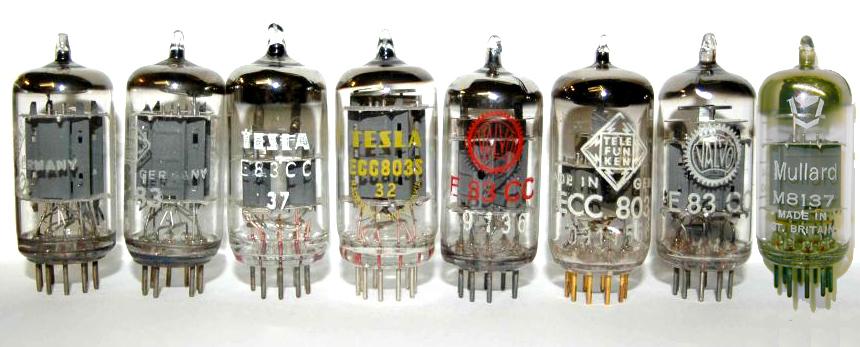 The BIG Test report for ECC83 - E83CC - 12AX7 - ECC803S